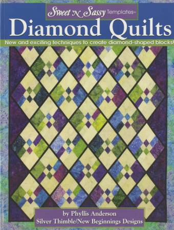 Sweet 'N Sassy Template Diamond Quilts  - Softcover