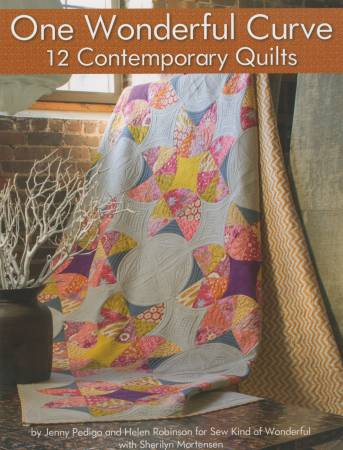 One Wonderful Curve 12 Contemporary Quilts  - Softcover