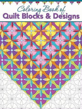 Quilt Blocks and Designs Coloring Book