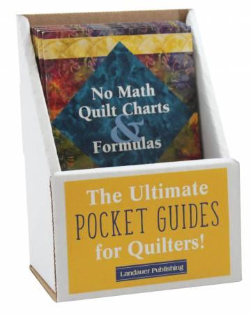 No Math Quilt Charts & Formulas Pocket Guide Displays