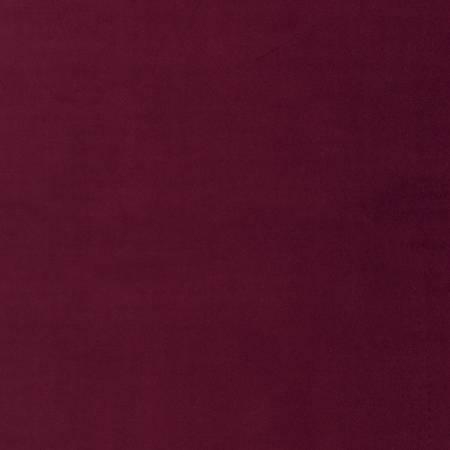 Cabernet Lush Velveteen Solid
