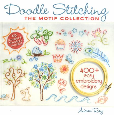 Doodle Stitching Motif Collection  - Softcover