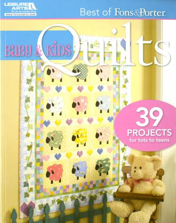 Best of Fons and Porter: Baby and Kids Quilts  - Softcover
