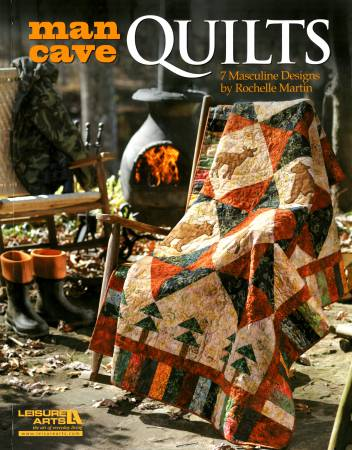 Man Cave Quilts  - Softcover
