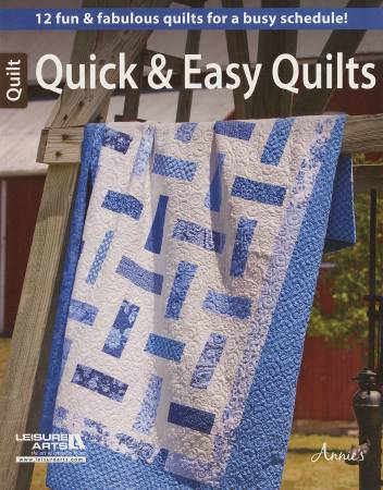 Quick and Easy Quilts - Softcover