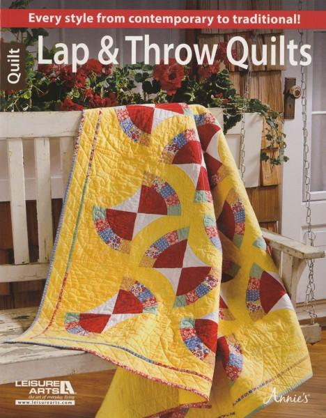 Lap & Throw Quilts - Softcover, Leisure Arts