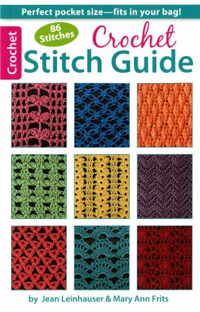 86 Stitches Crochet Stitch Guide  - Softcover