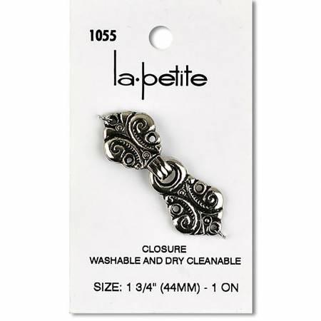 Metal Closure Antique Silver 1-3/8in