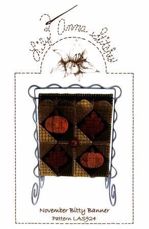 November Bitty Banner Kit Lily Anna Stitches