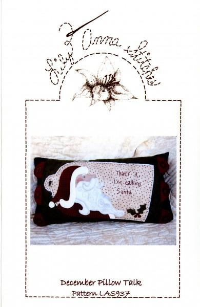 December Pillow Talk Pattern LAS937 by Lily Anna Stitches+