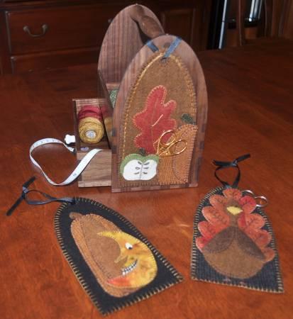 Fall Tote Adornments Kit