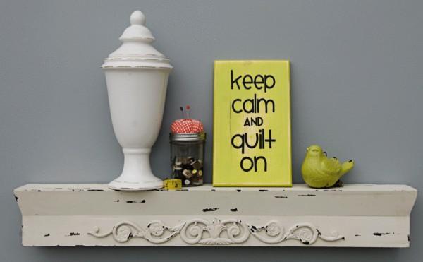 Keep Calm Sign Green