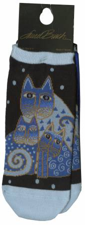 Indigo Cats 2 Pair Pack Socks