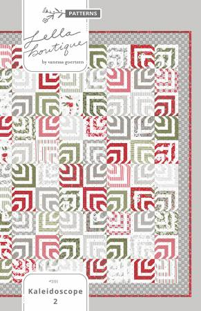 Kaleidoscope Quilt Kit - 64 1/2 x 78 1/2