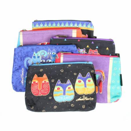 Laurel Burch Small Cosmetic Bag Feline Frolic