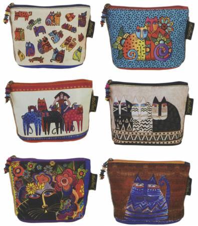 Feline Minis Cosmetic Bags