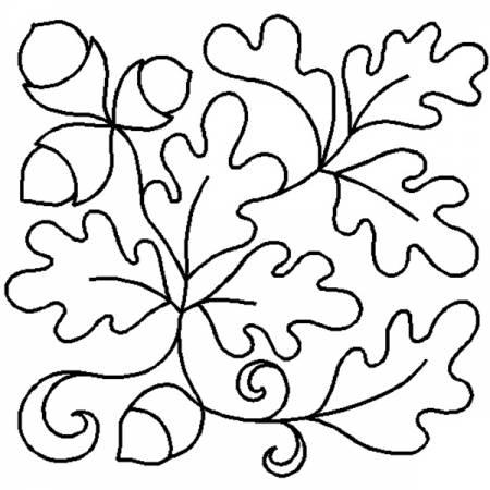 Oak Leaf Block