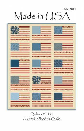 Made in USA Quilt Pattern