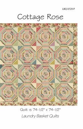 Cottage Rose Quilt Kit