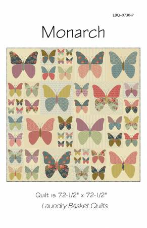 Monarch Butterfly Quilt Pattern by Laundry  Basket Quilts