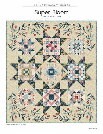 Super Bloom Quilt Pattern LBQ-0826-P