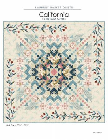 California - Quilt Pattern by Laundry Basket Quilts