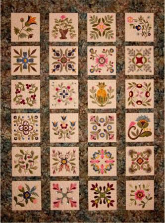 CD Elegant Garden  Machine Embroidery