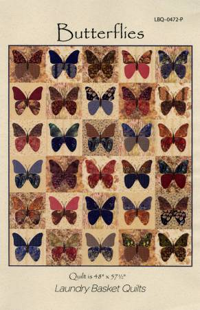 Butterflies by Edyta Sitar from Laundry Basket Quilts