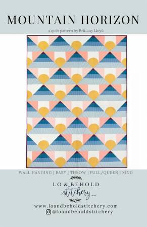 Lo & Behold Stitchery - Mountain Horizon