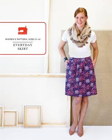 Everyday Skirt Pattern - 0-16 -Liesl & Co.