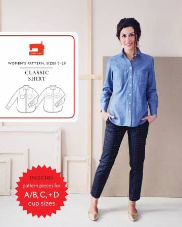 Classic Shirt Pattern - Liesl & Co.