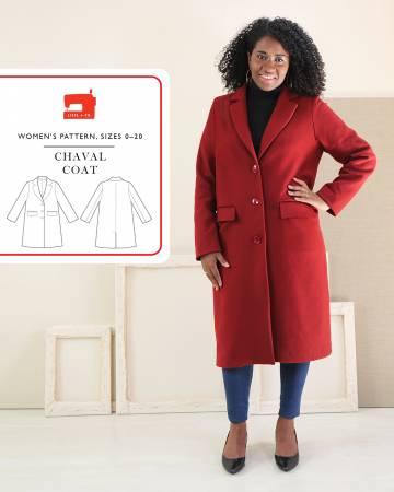 Pattern Chaval Coat - Liesl & Co