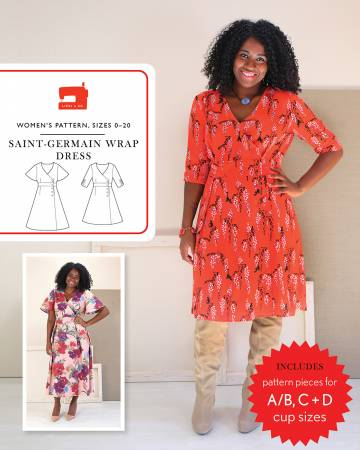 Saint-Germain Wrap Dress