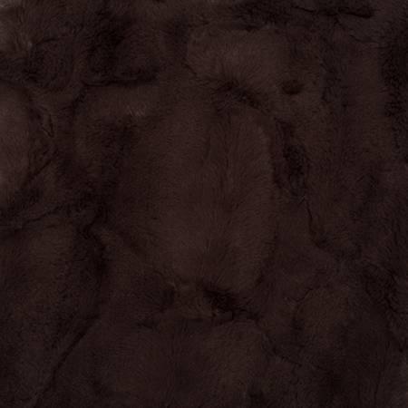 Shannon Fabrics Chestnut Luxe Cuddle Hide LCHIDE