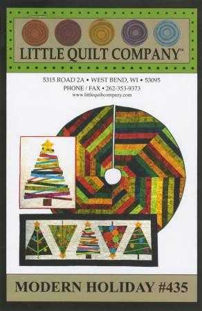 Little Quilt Company Modern Holiday Pattern