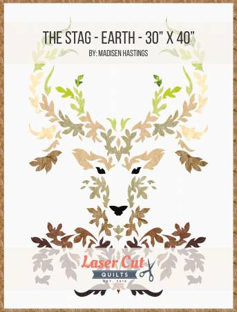 The Stag Earth Colorway Laser Cut Kit