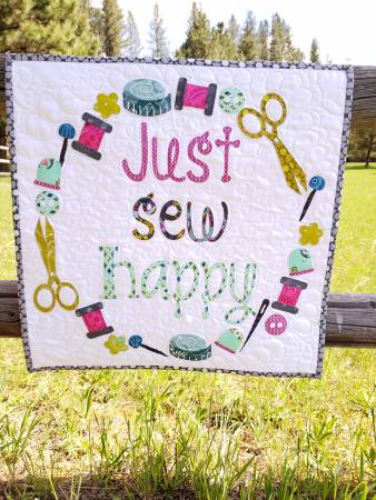 Just Sew Happy Laser Cut Kit