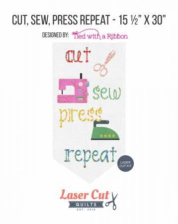 Cut Sew Press Repeat Laser Cut Kit