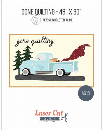 Gone Quilting Vintage Blue Laser Cut Kit