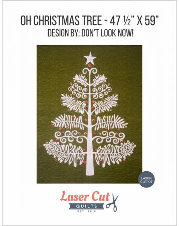 O Christmas Tree Laser Cut Kit