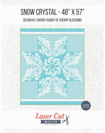 Snow Crystal Laser Cut Kit