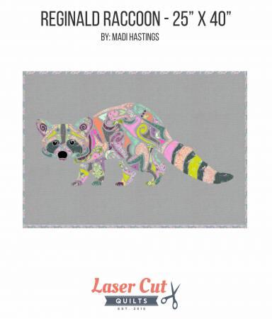 Reginald Raccoon Laser Cut Kit