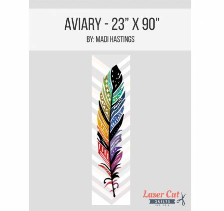 Laser Cut Quilts - Aviary Laser Cut Kit - 23 x 90