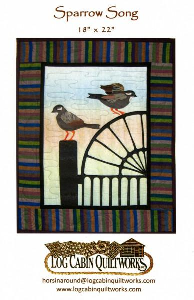 Sparrow Song - Log Cabin Quiltworks