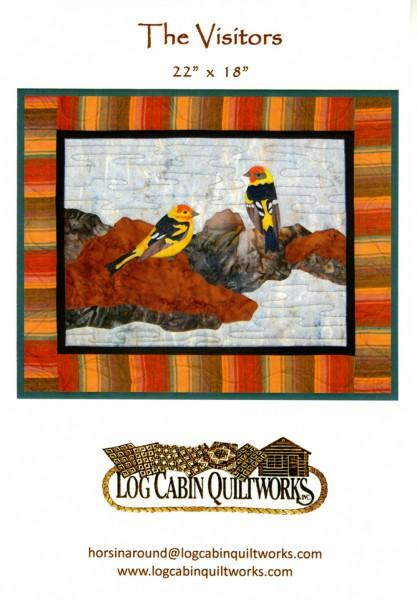 The Visitors - Log Cabin Quiltworks