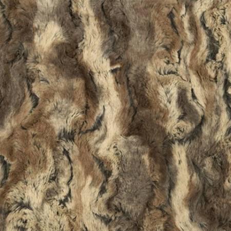 LCWILDRAB Driftwood - Shannon Minky Luxe Wild Rabbit