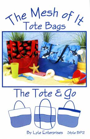 The Mesh of it - Tote & Go Bag Pattern