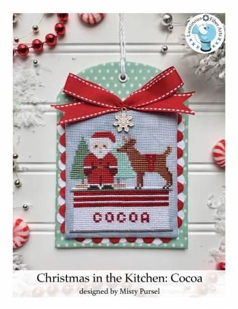 PT CS Luminous Fiber Art Christmas in the Kitchen: Cocoa