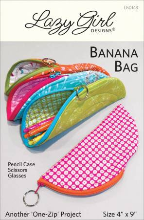 Banana Bag Pattern by Lazy Girl Designs