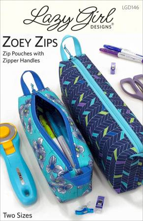 Zoey Zips by Lazy Girl Designs